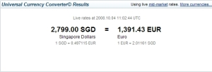 Al cambio fanno 1391€ + sconto del negoziante che qua è d'obbligo